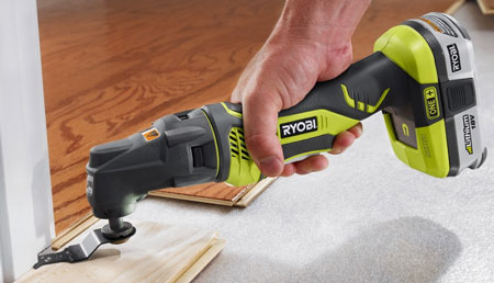 Ryobi JobPlus Multi-Tool with Cutting Attachment