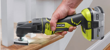 Ryobi JobPlus Multi-Tool with Sanding Attachment