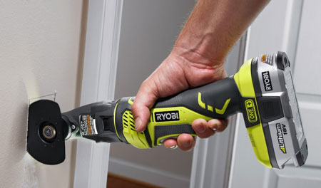 A first look at ryobi jobplus multi tool ridgid jobmax compatible base ryobi jobplus multi tool with saw attachment greentooth Image collections