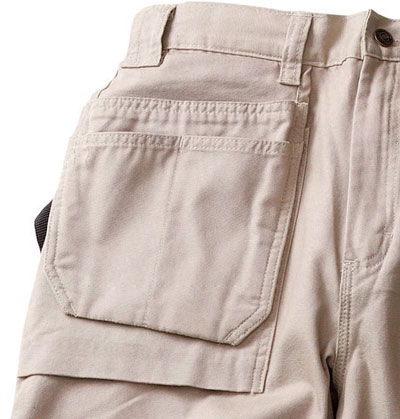 Blaklader Bantam Work Pants Utility Pockets and Bellowed Front Pocket