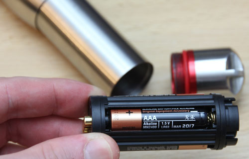 Coast A25 LED Flashlight Battery Cartridge