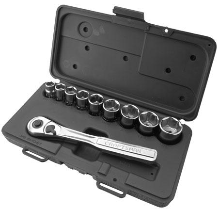 craftsman 309pc socket set and ball bearing tool storage deals. Black Bedroom Furniture Sets. Home Design Ideas