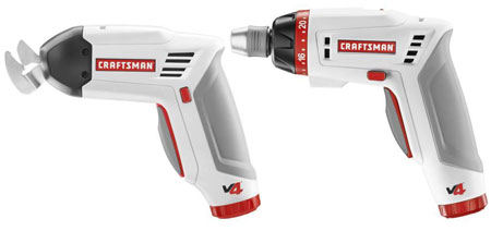 Craftsman V4 Cordless Screwdriver Multi-Cutter Combo Kit