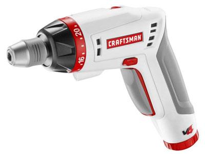 craftsman v4 4 volt cordless tools rh toolguyd com Craftsman Electric Screwdriver Sears Craftsman Cordless Screwdriver