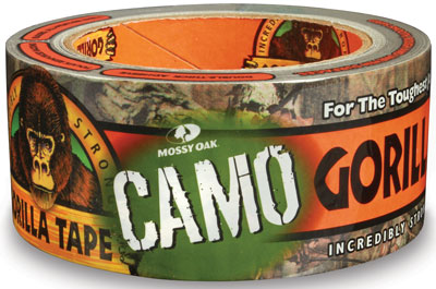 Gorilla Glue Tape with Mossy Oak Camo Pattern