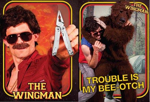 Leatherman Wingman Action Ad