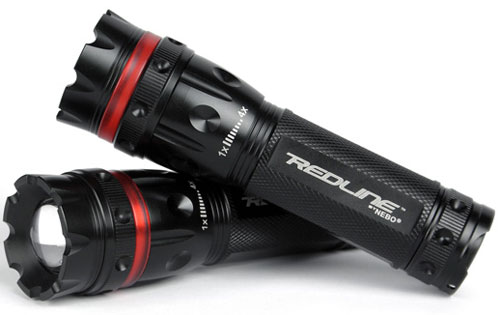 Black Nebo Redline Tactical Flashlight