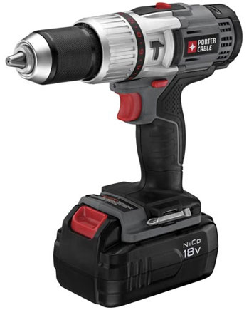 Porter Cable 18V NiCd Hammer Drill PCL180CDK-2