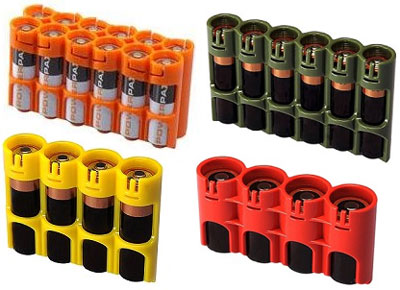 ToolGuyd U003e AA Battery Case. PowerPax Battery Holder Caddy