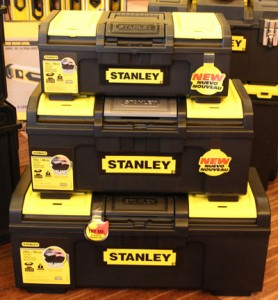 New Stanley Auto Latch Tool Boxes