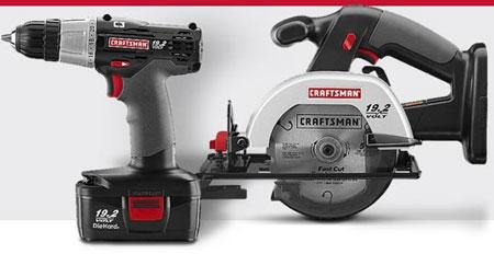 Craftsman C3 19.2V Cordless Drill & Circular Saw Combo for ...