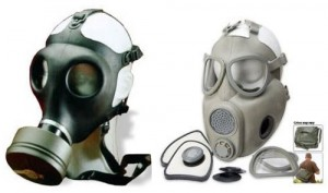 Surplus Israeli and Czech Gas Masks