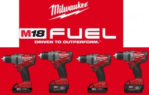 New Milwaukee M18 FUEL Drill Driver and Hammer Drill
