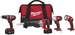 Milwaukee M18 4-Tool Combo