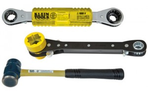 New Klein Lineman Wrenches & Milled-Face Hammer