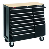 Craftsman GripLatch Ball Bearing Mobile Tool Cart & Chest Cyber DoorBusters