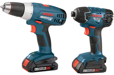 bosch drill impact driver kit for 165 shipped. Black Bedroom Furniture Sets. Home Design Ideas