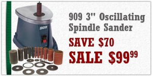 909 Oscillating Spindle Sander Woodcraft Deal