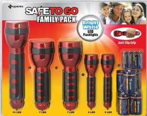BJs LED Flashlight Sets Recall