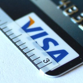Cardstick Stickers Turn Your Credit Card into a Ruler