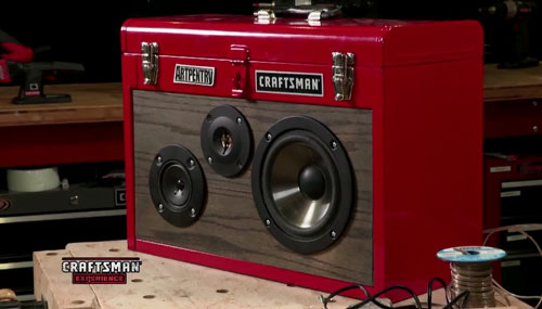 Diy Craftsman Tool Box Speaker