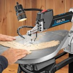 Delta 40-690 Scroll Saw Cutting Eagle Wings