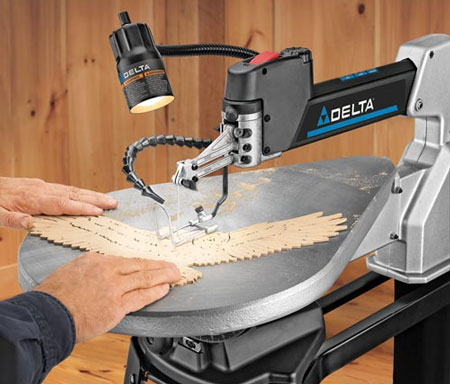 Delta 40 690 scroll saw cutting eagle wings greentooth Images