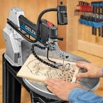Delta 40-690 Scroll Saw Wood Cutout
