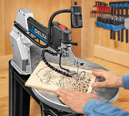 Delta 20 scroll saw sale delta 40 690 scroll saw wood cutout greentooth Images