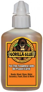 Gorilla Glue 2oz Bottle Clog Free Cap