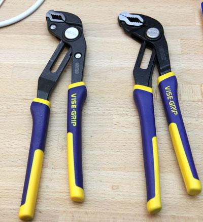 Irwin Vise Grip Groove Lock Pliers VG10 Comparison