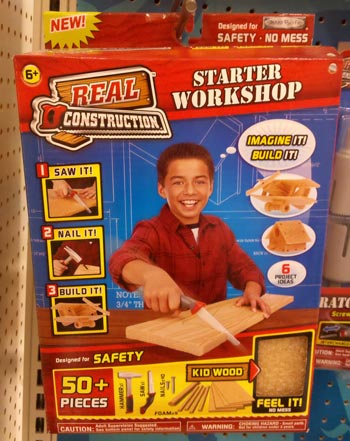 Real Construction Kid Wood Starter Set