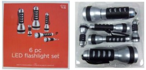 Target LED Flashlights Pose Fire & Burn Hazard