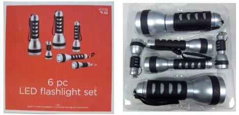 Target LED FLashlight Recall