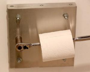 Craftsman Ratchet Toilet Paper Holder