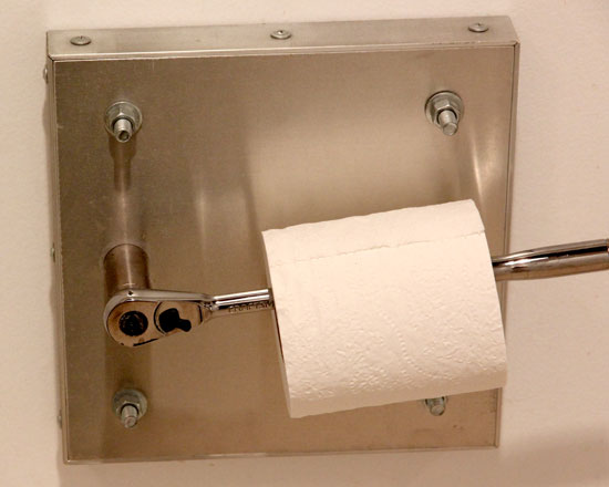 Craftsman Ratchet Toilet Paper Holder