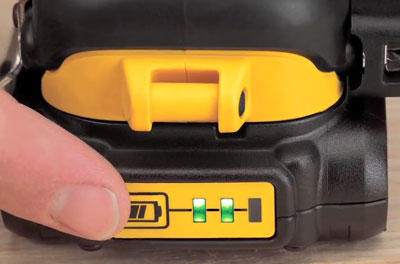 Dewalt 20V Max Fuel Gauge Battery Pack