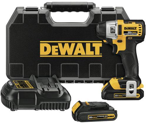 Dewalt Brushless Impact Driver Compact Kit