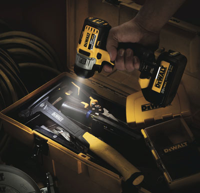 Dewalt Brushless Impact Driver LED Demo