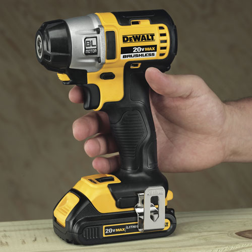 Dewalt Launches New 20V Brushless Impact Driver!