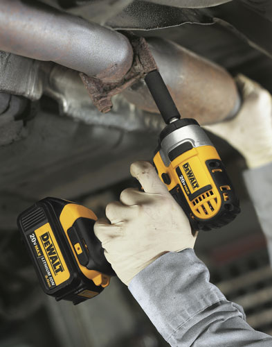 Dewalt Compact Impact Wrench Overhead Use