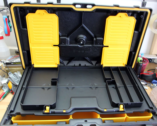 Dewalt Small Tough Case Accessory Compartment