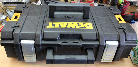 Dewalt Small Tough Case Handles Up