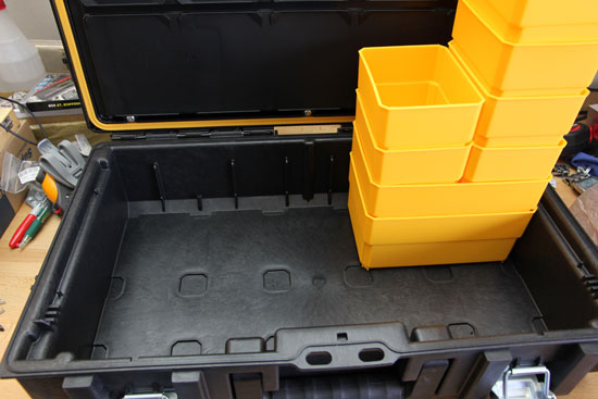 Dewalt Small Tough Case Removable Bins