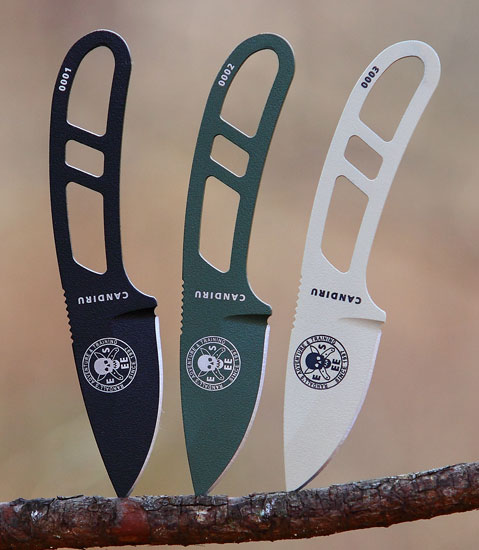 Esee Candiru Neck Knife Sneak Peek