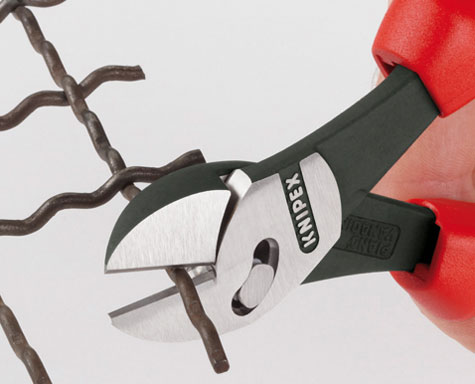Knipex TwinForce High Leverage Cutters Usage