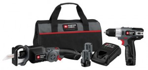 Porter Cable 12V Reciprocating Saw + Drill Kit Deal