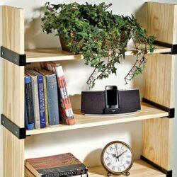 Rockler I-Semble Slip-on Shelf Brackets Bookcase