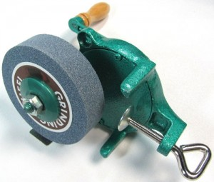 Hand-Powered Compact Grinding Wheel