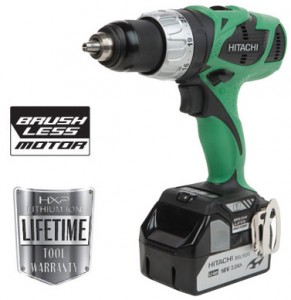 New Hitachi Brushless Drill Driver DS18DBL